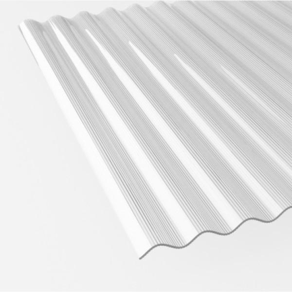 pc wellplatten farblos polycarbonat wellplatten 76 18 sinus farblos rille breite 1116mm. Black Bedroom Furniture Sets. Home Design Ideas