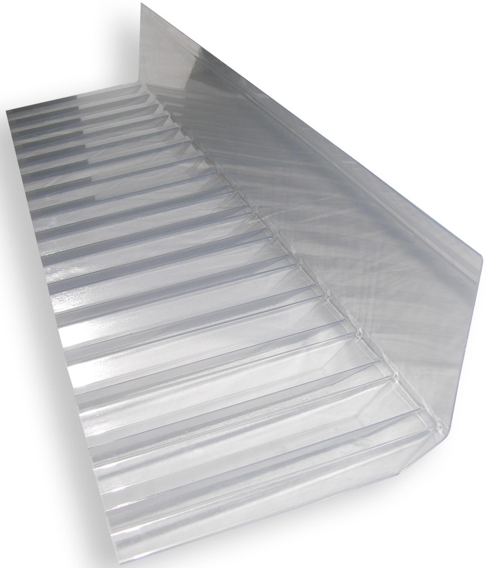 Berühmt PVC Wellplatten ONDEX: Wellplatte PVC ONDEX Super HR Trapez 70/18 BM87