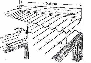 formteile wellplatten wellplatten wandanschlu acryl 76. Black Bedroom Furniture Sets. Home Design Ideas
