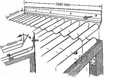 formteile wellplatten wellplatten wandanschlu acryl 76 18 breite 1045mmbei bodamer kunststoffglas. Black Bedroom Furniture Sets. Home Design Ideas