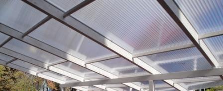 Relativ Stegplatten klar: Stegplatten MARLON Premium longlife 16mm WU08